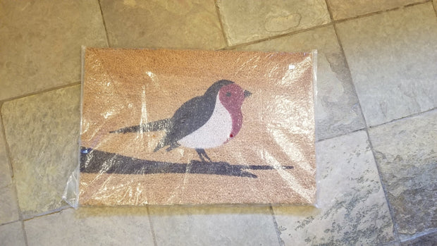 Bird Theme Coir Door Mat
