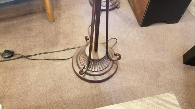 Leaded Glass Floor Lamp