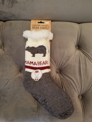Northern Comfort Bear Family Socks