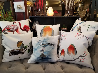 More Birds Than Butterflies Pillows