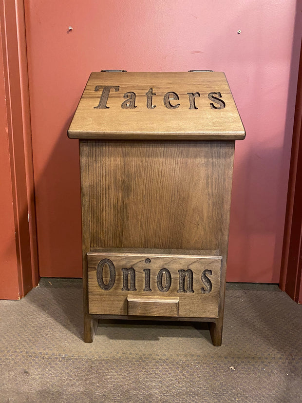 Tater and Onion Bin