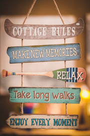 Cottage Lifestyle Hanging Sign