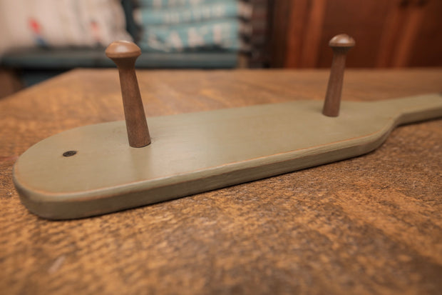 Boat Paddle 5 Hook Coat Rack