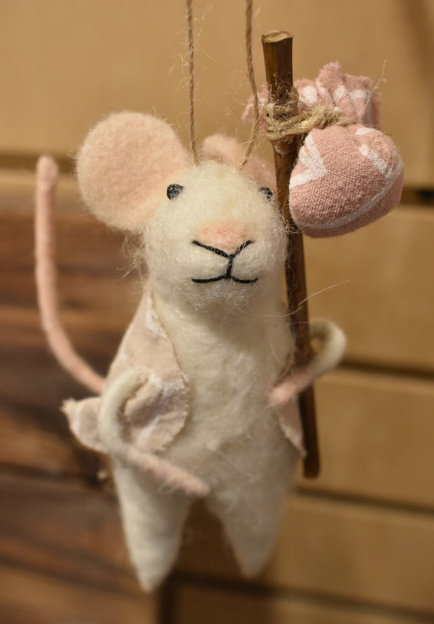 Holiday Mouse Ornaments
