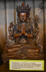 Changrezig Buddhist Statue