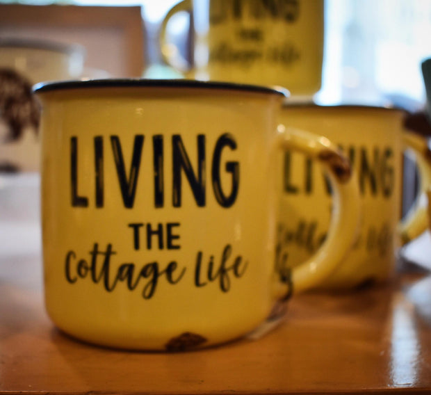 Living the Cottage Life Mug