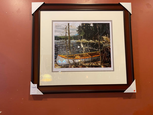 The Canoe. By Tom Thomson