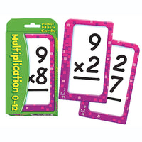 FLASH CARDS MULTIPLICACIÓN