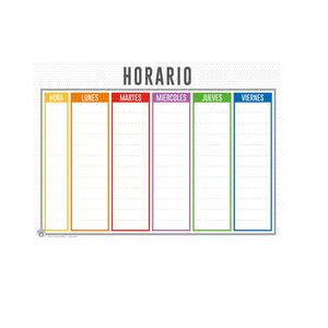 HORARIO COLOR