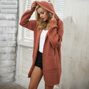 Hooded Oversize Cardigan