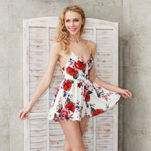 Summer Floral Print Romper (2 colors)
