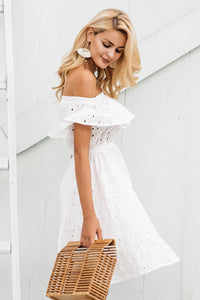 Off Shoulder Flirty Dress