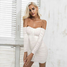 Bandage Tie Up Dress