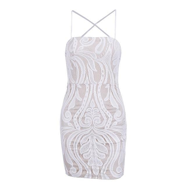 Lace Backless Bodycon (2 colors)