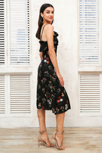 Floral Print Ruffle Summer Dress (2 colors)