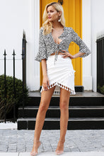 Tassel High Waist Pencil Skirt (3 colors/prints)