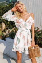 Floral Single Sleeve Summer Dress