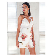 Backless Lace Bow Tie Romper (4 colors)