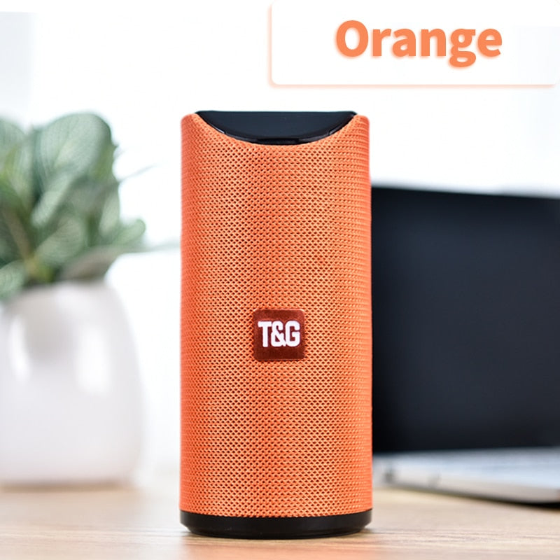 TG Bluetooth Speaker Portable Outdoor Loudspeaker Wireless Mini Column 3D 10W Stereo Music Surround Support FM TFCard Bass Box