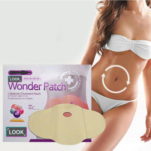 15PCS Wonder Patch Quick Slimming Patch Belly Slim Patch Abdomen Slimming Fat Burning Navel Stick Weight Loss Slimer Tool