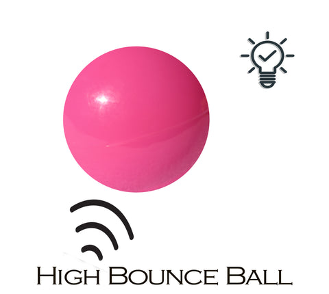 rubber ball high bounce light up toy