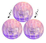 3 LED Lighted Bouncy Dog Balls New Brighter Aurora Borealis Lights<br><ul><LI> Jumping Activation Balls for Small Medium Dogs & Puppies</li><li> Fun Pet Gift,Funny Musical Sounds & Vibrations to Play Fetch with Old & Blind Dogs</li>