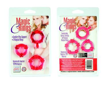 Magic C Rings - Red