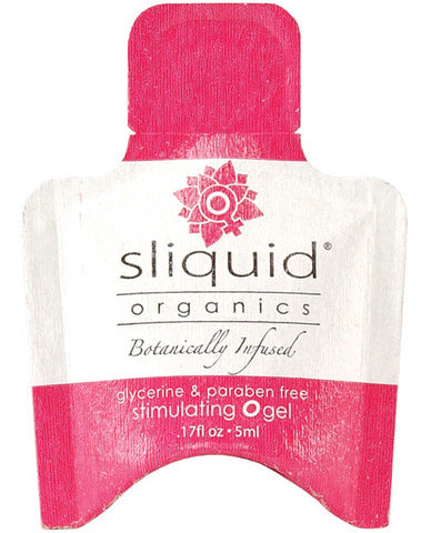 Sliquid Organics O Gel - .17 oz Pillow