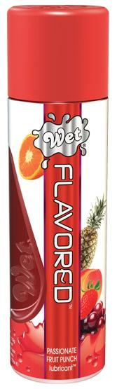 Wet Clear Flavored Personal Lubricant - 3.6 oz Passion Fruit