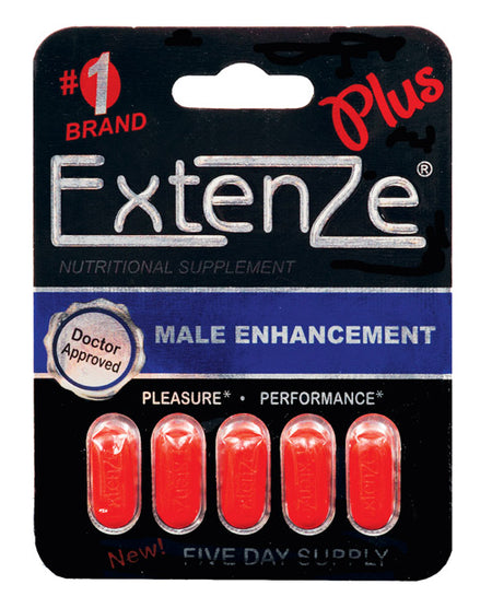 ExtenZe Plus Male Enhancement - 5 Tablet Blister