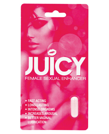 Juicy Female Sexual Enhancer Display - 1 Capsule