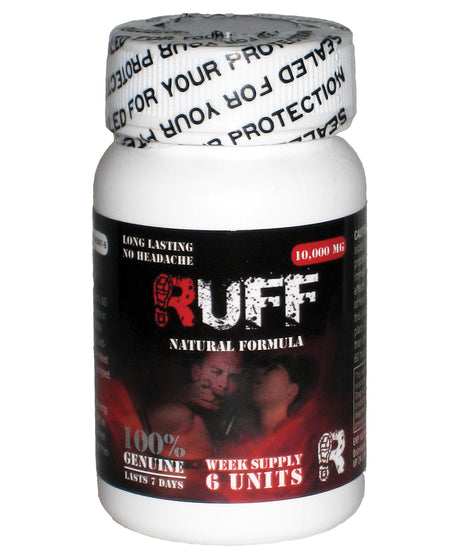Ruff Male Sexual Enhancement - Bottle of 6