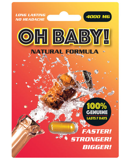Oh Baby Male Sexual Supplement - 1 Capsule
