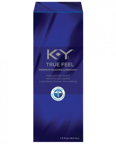 K-Y True Feel Silicone Lubricant - 1.5 oz