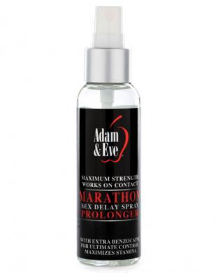 Adam & Eve Marathon Sex Delay Spray Maximum Strength - 2oz