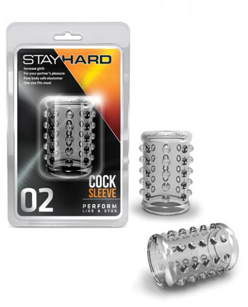 Blush Stay Hard Cock Sleeve 02 - Clear