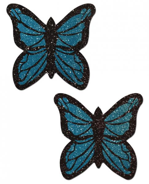 Pastease Glitter Butterfly - Blue O/S