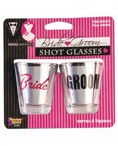 Bridal Boutique Bride & Groom Shot Glasses