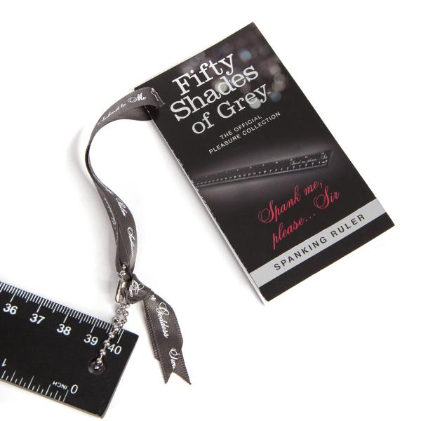 Fifty Shades of Grey Spank Me Please Spanking Ruler