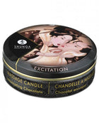 Shunga Excitation Mini Candlelight Massage Candle - 1 oz Intoxicating Chocolate