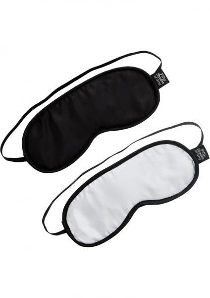 Fifty Shades of Grey No Peeking Blindfold Twin Pack