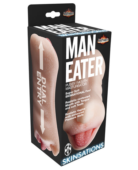 Skinsations Man Eater Pussy/Mouth Masturbator