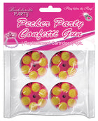 Party Pecker Confetti Refill Cartridge - Pack of 4