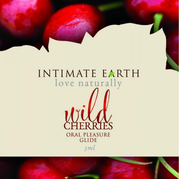 zIntimate Earth Lubricant Wild Cherries - Foil