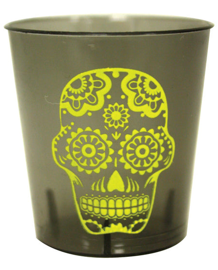 Candy Skull Shot Glass Set - Pack of 12