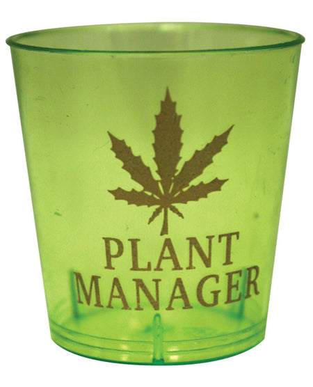 Plant Manager Shot Glass Set - Pack of 12