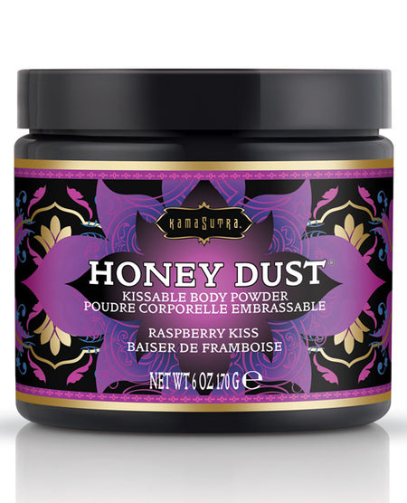 Kama Sutra Honey Dust - 6 oz Raspberry Kiss