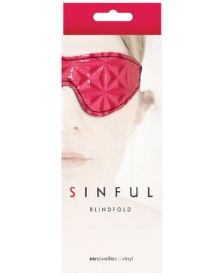Sinful Blindfold - Pink
