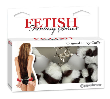 Fetish Fantasy Series Furry Handcuffs - Zebra