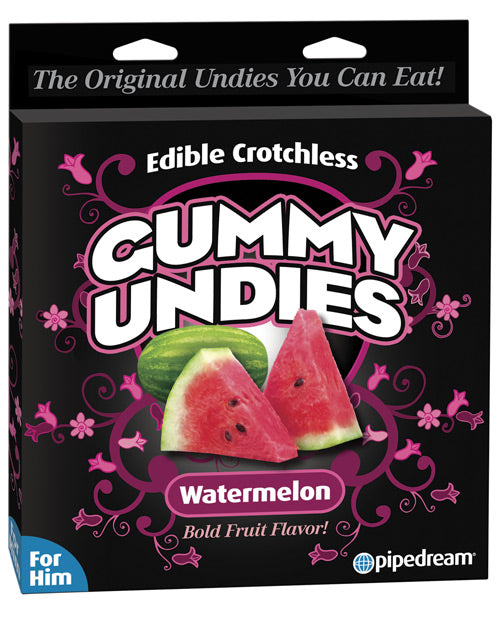 Edible Male Gummy Undies - Watermelon